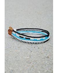 Forever 21 | Metallic Bead Relief Beaded Bracelet Set | Lyst