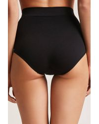 Forever 21 - Black Assets By Spanx Shaping Panty - Lyst