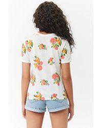 Forever 21 - Multicolor Women's Citrus Fruit Graphic Tee Shirt - Lyst