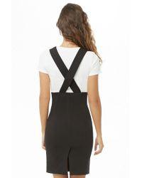 Forever 21 - Black Zippered Overall Skirt - Lyst