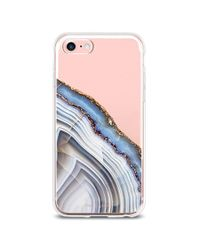 Forever 21 Blue Geo Stone Case For Iphone 6