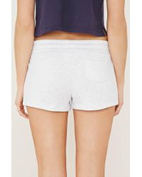 Forever 21 - Blue 67 Graphic Pyjamas Shorts - Lyst