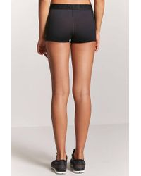 Forever 21 - Black Active Never Too Late Graphic Shorts - Lyst