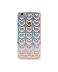 Forever 21 Metallic Heart Case For Iphone 6/6s/7