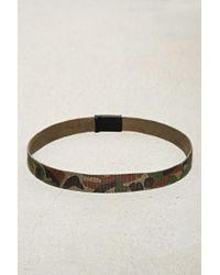 Forever 21 - Brown Men Camo Print Belt for Men - Lyst