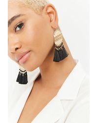 Forever 21 - Multicolor Tassel Drop Earrings - Lyst