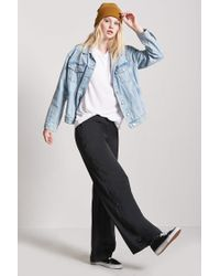 Forever 21 Black High-rise Tearaway Pants