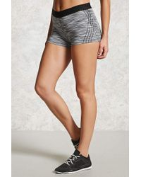 Forever 21 Gray Active Space-dye Shorts