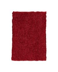 Forever 21 - Red Chenille Oblong Scarf - Lyst