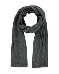 Forever 21 Gray Oblong Knit Scarf