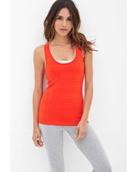Forever 21 - Red Active Athletic Training Tank - Lyst