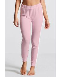 Forever 21 - Pink Contrast Stripe Pj Pants - Lyst