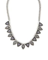 Forever 21 - Metallic Etched Collar Necklace - Lyst