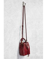 Forever 21 - Multicolor Faux Leather Mini Bucket Bag - Lyst