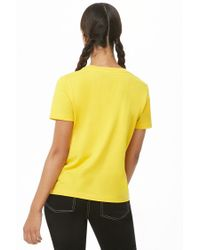 Forever 21 - Yellow Women's Legalize Dreams Graphic Tee Shirt - Lyst