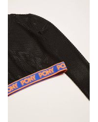 Forever 21 - Black Pony Mesh Crop Top - Lyst