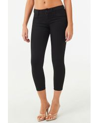 Forever 21 Black The Beverly Low-Rise Jeans