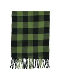 Forever 21 - Green Men Flannel Check Scarf for Men - Lyst