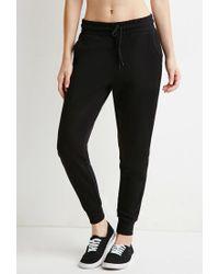 Forever 21 - Black Classic Drawstring Sweatpants - Lyst