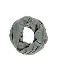 Forever 21 - Gray Purl Knit Infinity Scarf You've Been Added To The Waitlist - Lyst