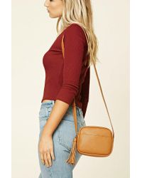 Forever 21   Multicolor Faux Leather Crossbody   Lyst