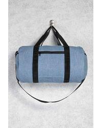 Forever 21 Blue Travel Duffel Bag for men