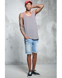 Forever 21 - Multicolor Striped Tank Top for Men - Lyst