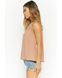 Forever 21 - Multicolor Floral-embroidered Top - Lyst
