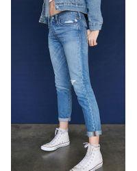 Forever 21 Blue Levis 501 Taper Jeans