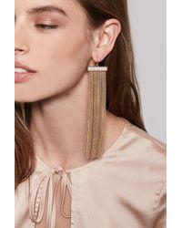 Forever 21 | Metallic Waterfall Tassel Duster Earrings | Lyst