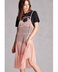 bfd98b521a5 Forever 21. Women s Korirl Sheer Mesh Dress