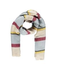 Forever 21 - Multicolor Striped Oblong Scarf - Lyst