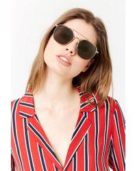Forever 21 Metallic Classic Square Sunglasses