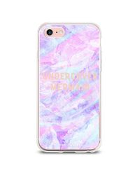 Forever 21 Pink The Casery Mermaid Case For Iphone 7