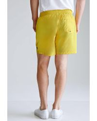 Forever 21 Yellow Rope-drawstring Swim Trunks for men