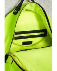 Forever 21 Yellow Medium Nylon Backpack