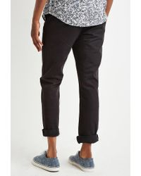Forever 21 Black 's Classic Chino Pant for men
