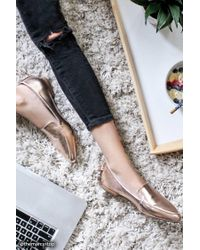Forever 21 | Multicolor Faux Leather Loafers | Lyst