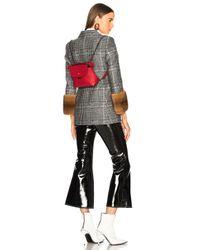Fendi - Red Mini Back To School Backpack In Strawberry - Lyst