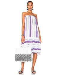 Lemlem | Purple Adia Convertible Dress | Lyst