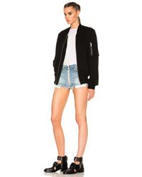 Unravel - Black For Fwrd Bomber Jacket - Lyst