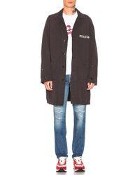 Visvim Black Peerless Shop Coat for men