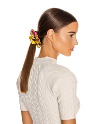 Versace Multicolor Baroque Hair Scrunchie