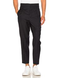 3.1 Phillip Lim - Black Lightweight Wool Suiting Trousers - Lyst