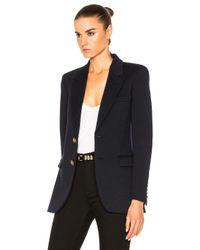 Saint Laurent Black New Angie Blazer