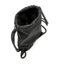 Y-3 Black Mini Gym Bag for men