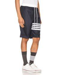 Thom Browne Track-Shorts in Blue für Herren