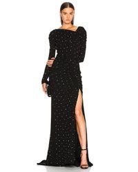 Altuzarra Black Gallen Gown