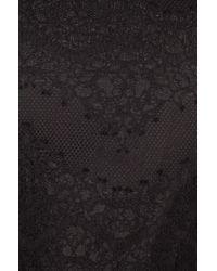 Nicholas Black Thalia Lace Ruffle Top