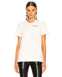 Off-White c/o Virgil Abloh White Quotes Casual Tee